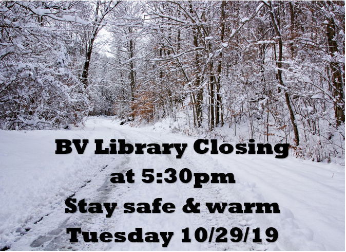 Closing Early for Snow